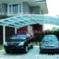 批发直销制作耐力板雨篷、钢结构雨棚 阳光板雨棚车篷设计制作厂