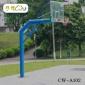 阳江户外篮球架成人标准篮球架固定式-阳春独柱圆管篮球架厂家