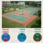 江门灯光球场看台刷漆施工-室外-丙烯酸篮球场地坪鹤山篮球架安装